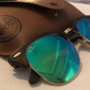 Green club master Ray-Ban women sunglasses